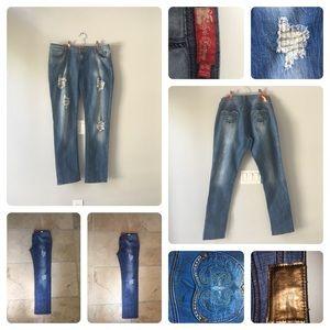 Apple Bottom  jeans - sz 11-12